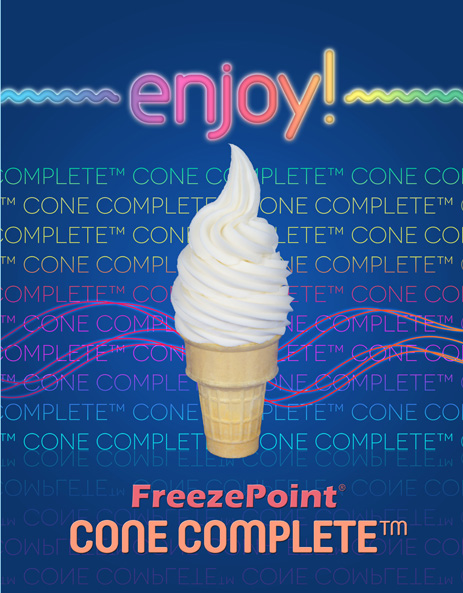 Enjoy New FreezePoint(R) Cone Complete (TM)