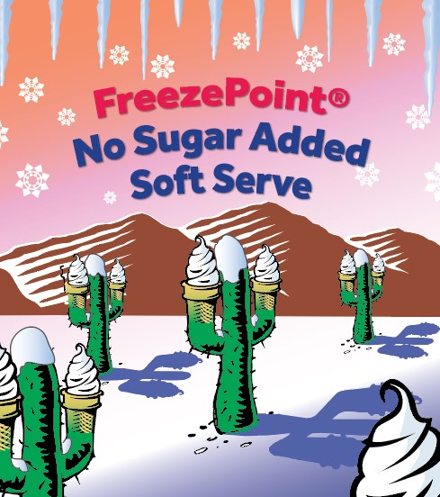 FreezePoint® No Sugar Added Soft Serve Mixes